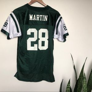New York Jets Curtis Martin NFL Football Jersey